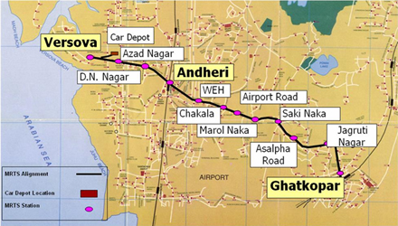 mumbai-metro-m1-map